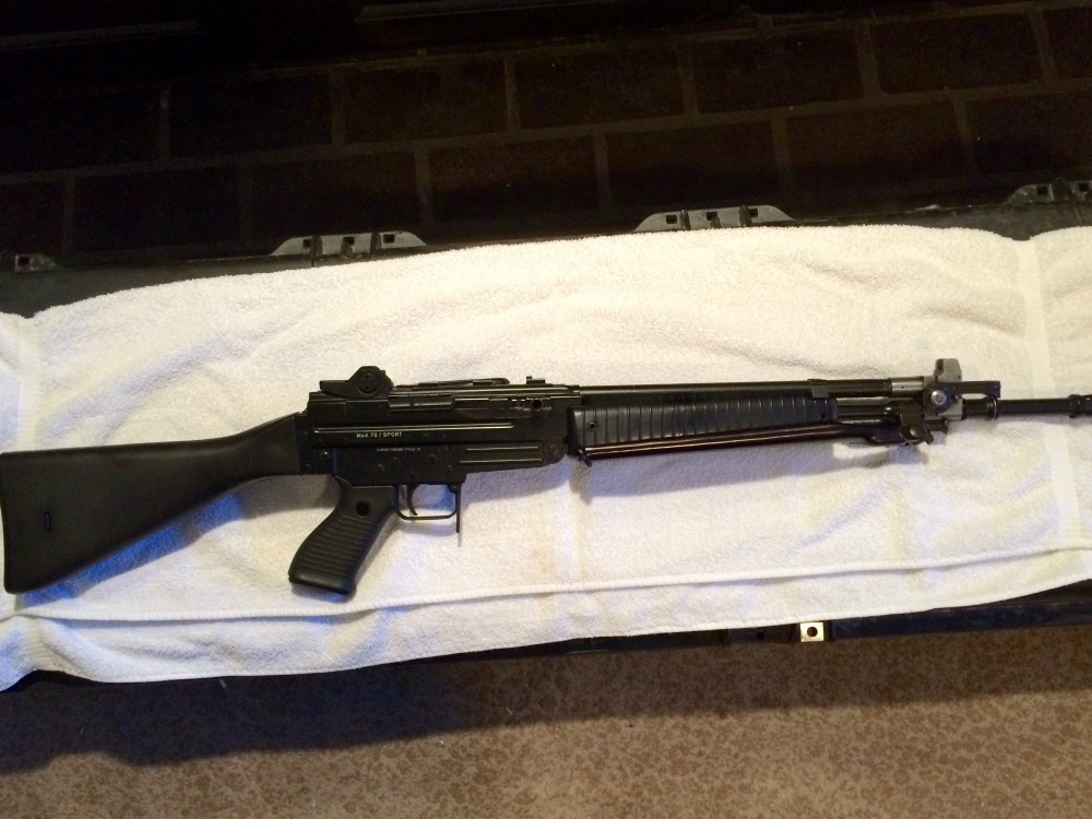 Beretta AR70 Machine Gun Registered Receiver Machine Gun Used
