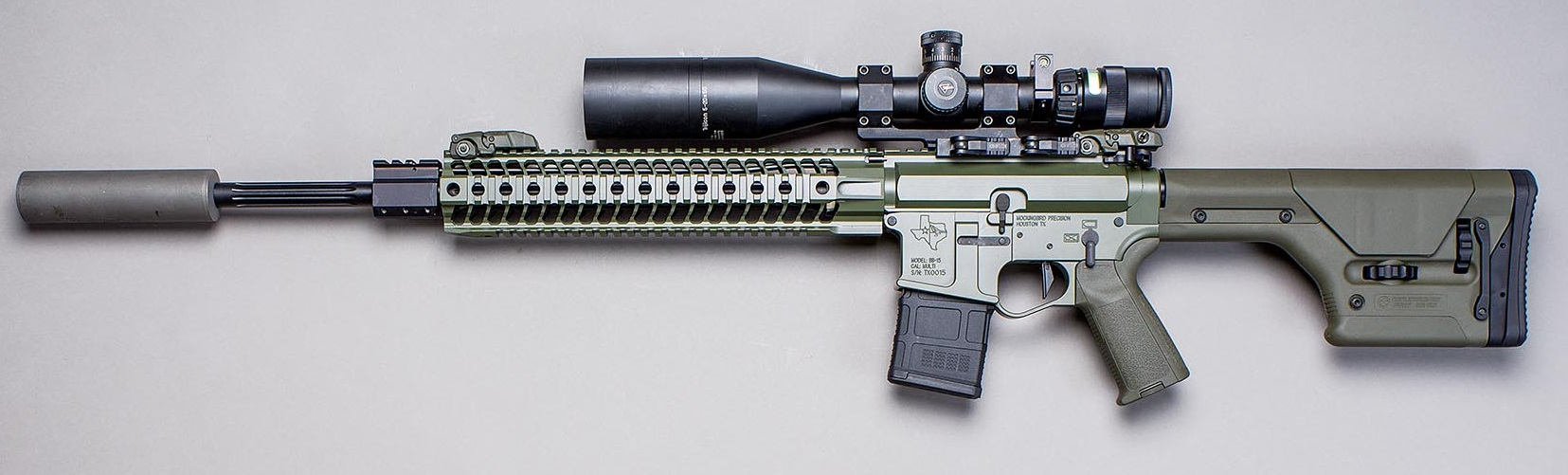 Mockingbird Precision BB-15 5.56 DMR