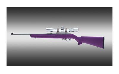 10-22 Standard Barrel Purple Rubber OverMolded Stock