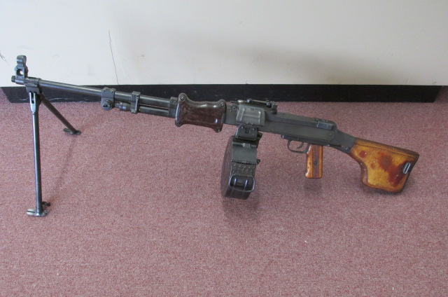 Hungarian RPD Post Sample Machinegun