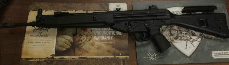 **SOLD** Transferable HK33 Double PP RR Billistics Conversion