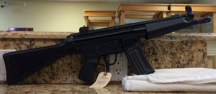 **SOLD** Transferable Group Converted HK 53 Shelf Gun