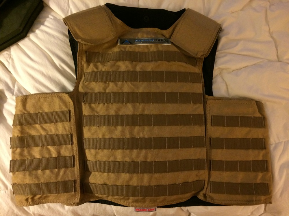 Pinnacle Dragon Skin Body Armor Vest XL Level IIIA New