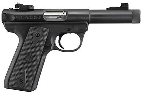 RUGER MARK III 22/45 THREADED BARREL 22 LR