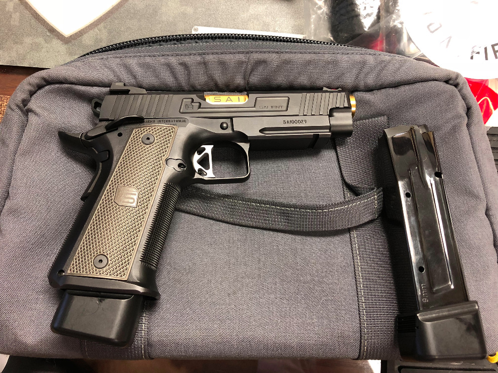 Salient Arms International Red 9mm Double Stack **Demo** *SOLD*