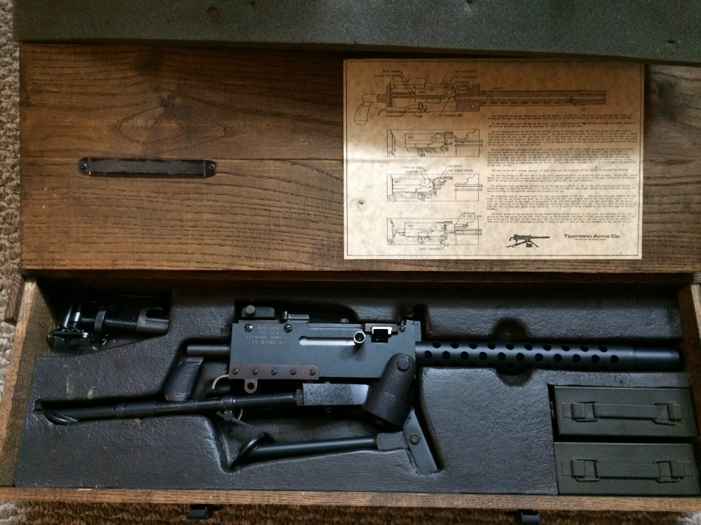 Tippmann Arms Company 1919 Belt Fed Machine Gun Used