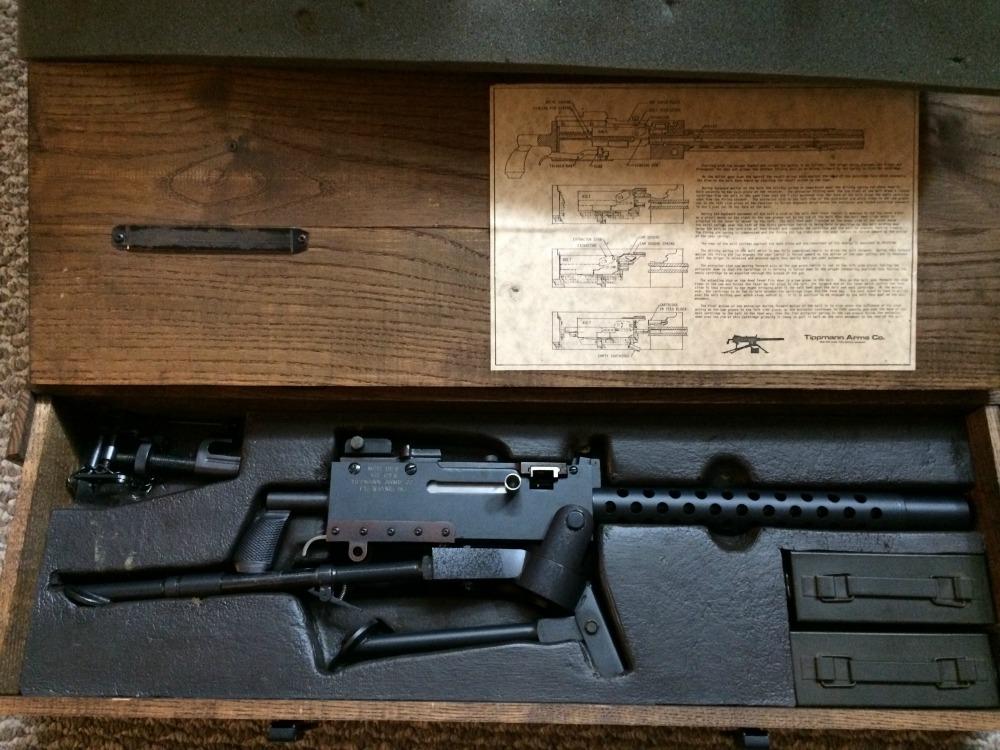 SOLD** Tippmann Arms Company 1919 Belt Fed Machine Gun Used