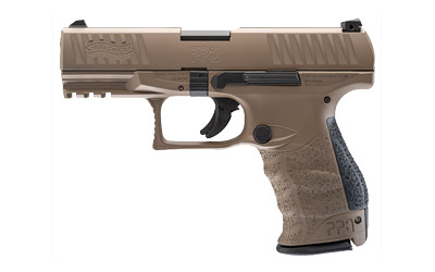 "WALTHER PPQ M2 NAVY 9MM 4"" FDE"