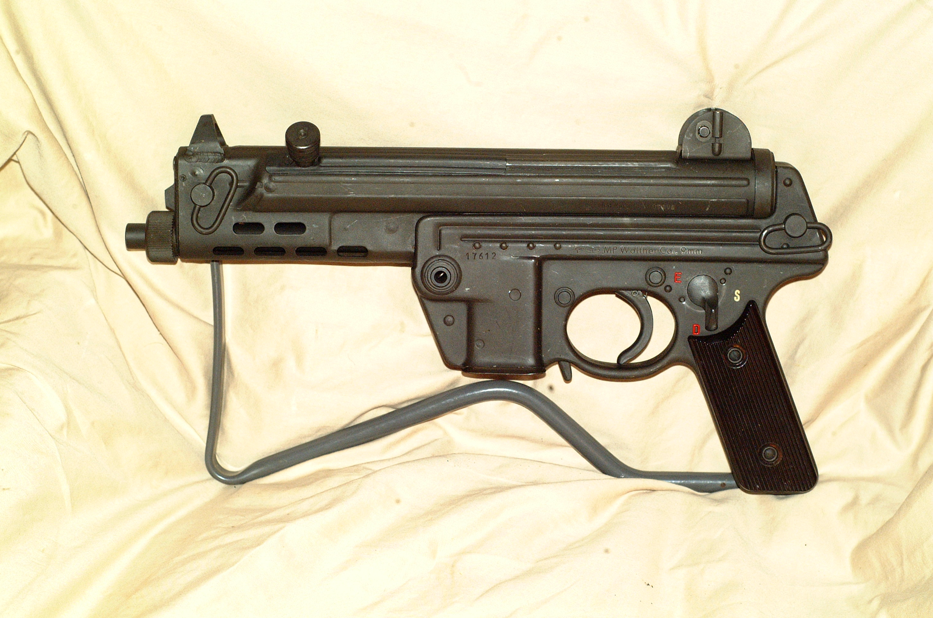 Walther MPK Dealer Sample Machinegun