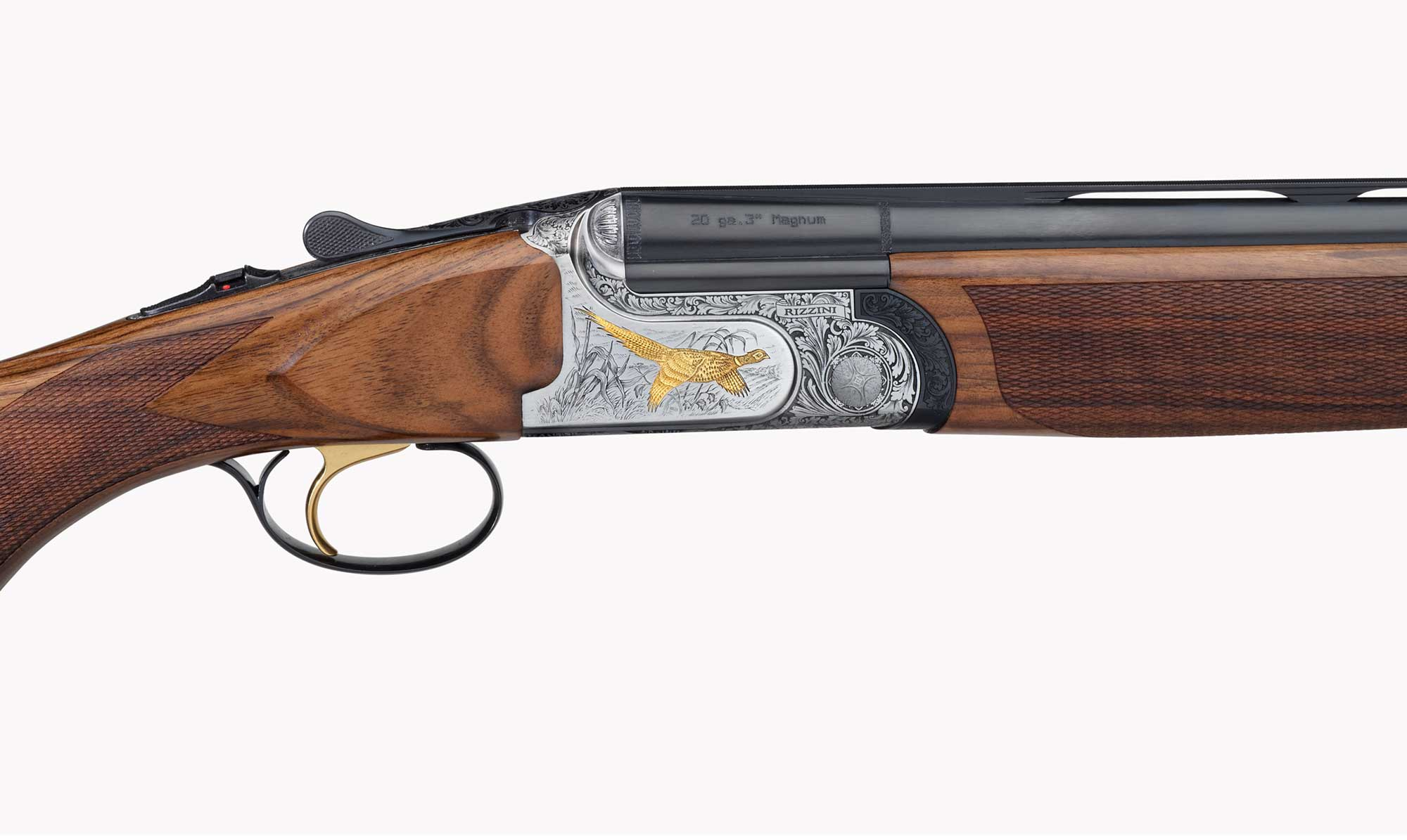 "Rizzini Aurum Light 28"" 20GA Shotgun Straight English Stock"